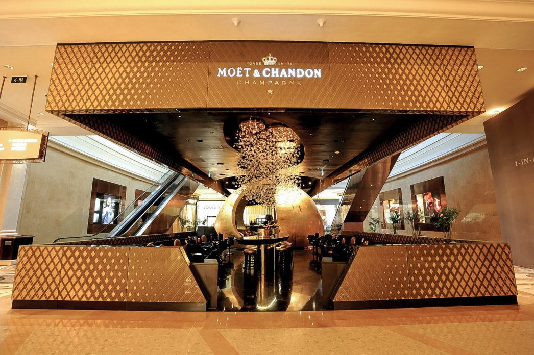 ateliergh Bubble Bar Moet & Chandon