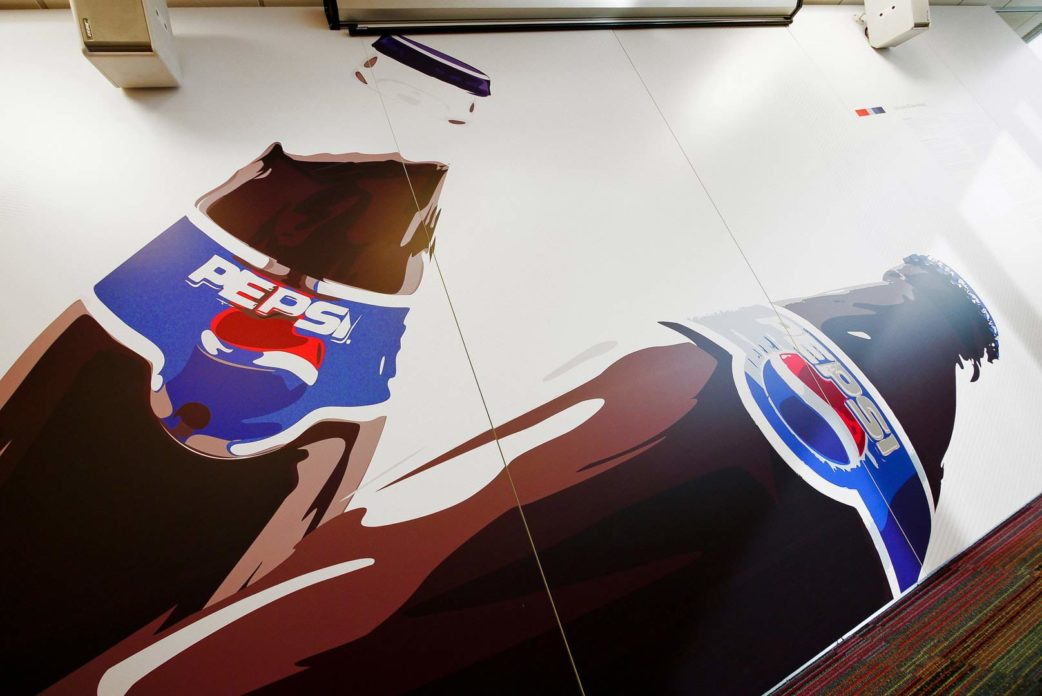 ateliergh Pepsi Wall Pepsico