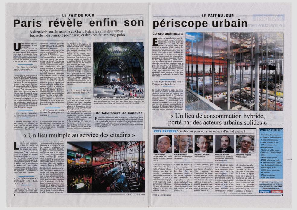ateliergh Urban Periscope Fnac & Ratp
