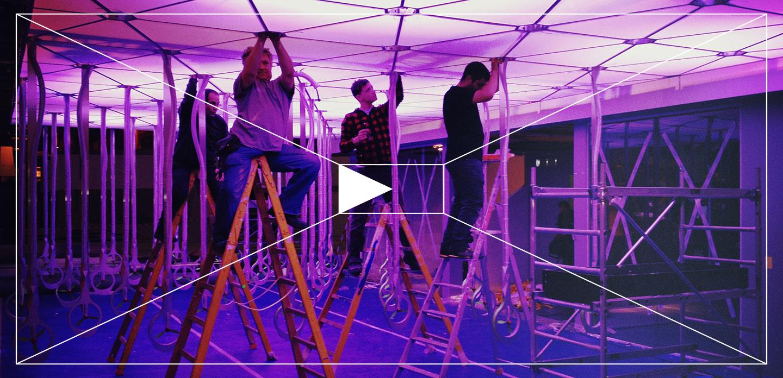 Gaël Hietin - atelier GH - ateliergh Video Flying Sticks Valeo