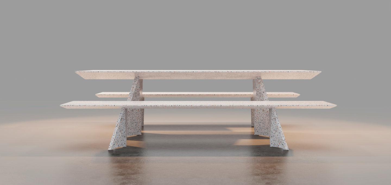 Gaël Hietin - atelier GH - ATELIER GH-Table Noe-Yamato